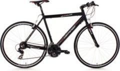 KS Cycling Fitnessrad 21 Gänge Fitness-Bike Lightspeed (Black) 28 Zoll