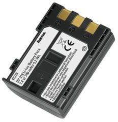 Zwarte Hama accu voor digitale camera (Canon NB-2L/LH)