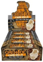 Grenade Carb Killa Bars 12repen Choco Chip Salted Caramel