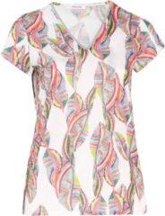 Paprika T-shirt in gerecycled polyester met kleurrijke etnische print Laarzen Dames T-shirt Maat EU52