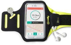 Celly Armband - Smartphone mobiele telefoon behuizingen 16,5 cm (6.5'') Armband doos Zwart, Geel