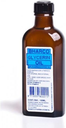 Afbeelding van Bharco Glycerin Oil 100 ml