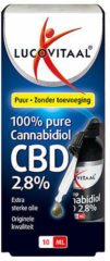 Lucovitaal Hennep Cannabidiol CBD olie 2.8% - 10 milliliter - CBD Olie