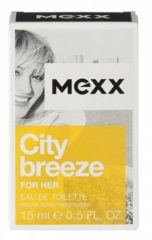 Mexx City Breeze Woman Eau de Toilette Spray 15 ml