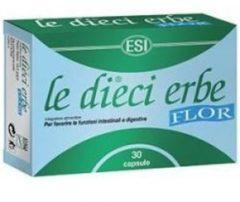 Esi Le Dieci Erbe Flor Integratore Digestivo 30 Capsule