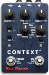 Red Panda Context 2 stereo reverb effectpedaal