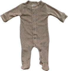 Zandkleurige witlof for kids baby corduroy boxpak zand