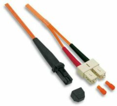 EFB Elektronik Glasvezel Aansluitkabel [1x MTRJ-stekker - 1x SC-stekker] 62,5/125µ 10 m
