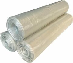 Dimensio Afvalzakken 70x110cm LDPE T50 transparant - Doos 250 stuks (10 rol x 25 zakken)