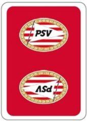 Speelkaarten - PSV: rood