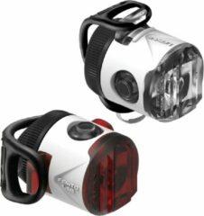 Lezyne Femto USB Drive Pair 15F/5R Verlichtingsset - 15 Lumen - Wit