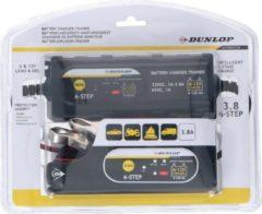Dunlop Acculader-Trainer - 6/ 12 V - Intelligent - 6 Fasen - Indicatoren - IP65
