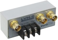 Eurolite LVH-6 BNC-switch Met metalen behuizing