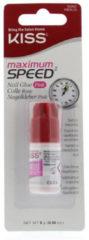 Kiss Nail glue max speed pink 1 Stuks