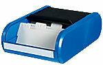 Helit H6218093 Visitekaarthouder Zwart, blauw A8 300 kaarten Kunststof 13,6 x 24 x 6,7 cm