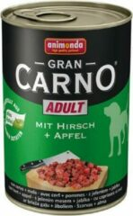 Animonda GranCarno Original Adult - Rund met Hert en Appel - 6 x 400 g