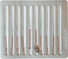 Witte Dermasyis naaldset voor Elektrocoagulator 10st.
