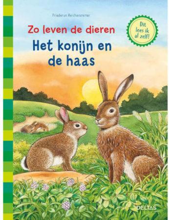 Afbeelding van Zo leven de dieren: Zo leven de dieren - Het konijn en de haas - Friederun REICHENSTETTER