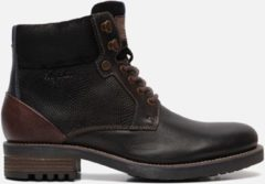 Bruine Australian Footwear Heren Boots Bartoli Boots Zwart - Zwart - maat 44