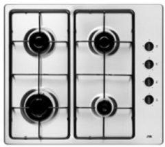Roestvrijstalen Etna T106VRVSA - Inbouw - Gaskookplaat