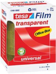 Tesa 57406-00002-00 57406-00002-00 tesafilm tesafilm Transparant (l x b) 66 m x 19 mm 8 rollen