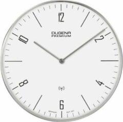 Zilveren Dugena Wanduhr Funkuhr 7000997