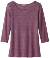 Enna Shirt met ronde hals, cassis 36/38