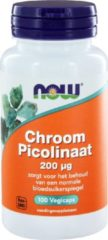Now Foods NOW Chroom Picolinaat 200 µ - 100 Capsules - Mineralen