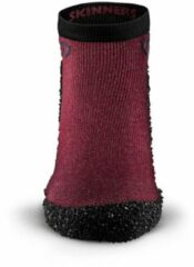 Bordeauxrode SKINNERS® Skinners Limited Edition Bordeaux - Barefoot - Special - Schoen Sok Maat XXL