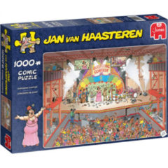 JUMBO Puzzel Jan Van Haasteren Eurosong Contest 1000 Stukjes (6130025)
