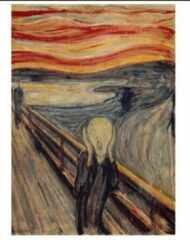 Piatnik kunstpuzzel Edvard Munch - The scream 1000