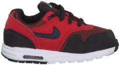 new product 9a7dd 5dcaa Sneaker Air Max 1 mit Lederelementen Nike Rough Red Midnight Navy-University  Red