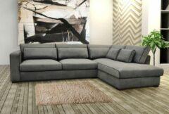 Maxicomfy Loungebank Rosa - Grijs - Lounge rechts