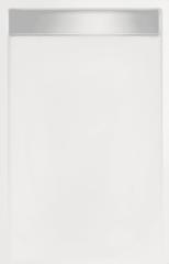 Witte Beterbad Xenz Douchebak rechthoek zelfdragend Easy Tray 90x80x5cm (Met mat of glans gootcover)