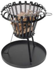 Zwarte Perel Vuurkorf met Asplaat - Ø 55 cm