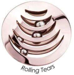 Roze Quoins QMB-03L-R Disc Black Label 3 D disk rosekleurig Large