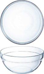Arcoroc Empilable Servies - Kom - 7cm - Glas - (set van 6) En Yourkitchen E-kookboek - Heerlijke Smulrecepten