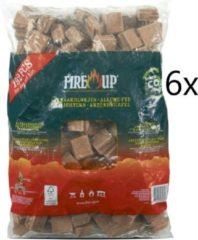 Fire-Up aanmaakblokjes voordeelbox met 1152 stuks - 6x 192st