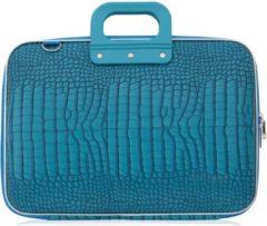 Blauwe Bombata COCCO 15 inch Laptoptas – 15,6 inch / Turquoise