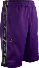 Australian korte broek paars acetaat maat XL/52