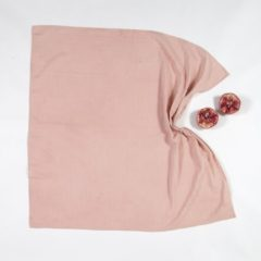 BORO*MINI hydrofiele doek XXL - Meekrap roze uni