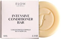 Flow Cosmetics Conditioner Bar Hennep - Natuurlijke conditioner - Zero waste - Vegan - Biologisch - 65gr