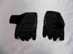 Witte Fietshandschoenen zomer Icetec maat XXL