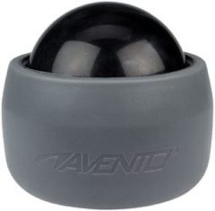 Avento Massagebal in Grip-Cup - Grijs/Zwart