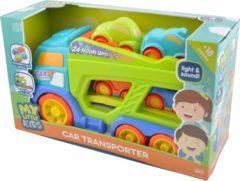 Braet My Little Kids Autotransporter met 4 Wagens