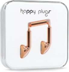 Roze Happy Plugs Earbud - In-ear oordopjes - Rosegold