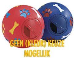 Rode Beeztees Pet Products Snackbal Verstelbaar -11cm