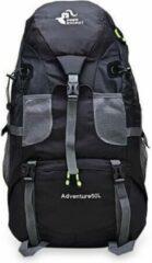 Merkloos / Sans marque Backpack - Free Knight Adventure - Zwart - Wandelrugzak - Rugtas - Rugzak - 50 Liter