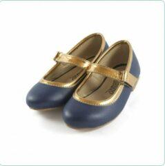 Tamago shoes Kinderschoenen Meisje Ballerina Model Nicole Mt 25 (2-3 jaar) Donkerblauw