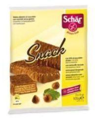Schar Snack wafers al cioccolato con nocciole senza glutine 3x35g